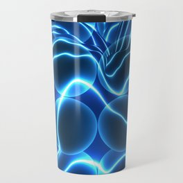 Quantum Energy Waves around Quantum Dots Travel Mug