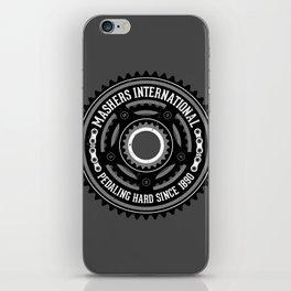 Mashers International (dark grey) iPhone Skin