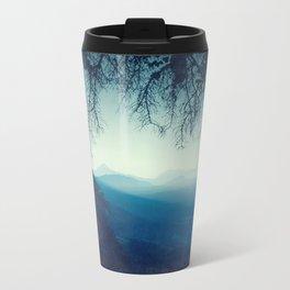 Blue Morning Metal Travel Mug