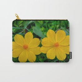 Two Yellow Flowers Carry-All Pouch