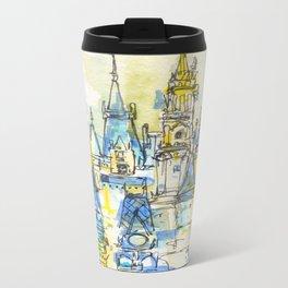 Cinderella's Castle Magic Kingdom  Travel Mug
