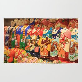 A lot of souvenirs of nesting dolls Rug