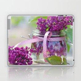 Lilac Spring Still life Laptop & iPad Skin