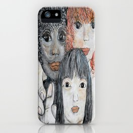 All God's Children iPhone Case