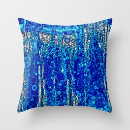 Bubbling Waters Throw Pillow