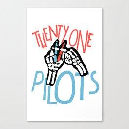 21PILOTS Canvas Print