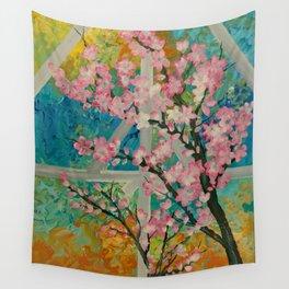 Prunus serrulata Wall Tapestry
