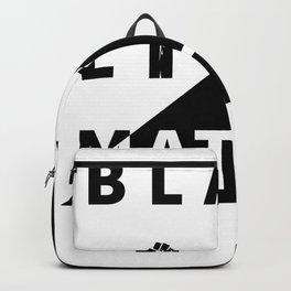 Black Lives Matter – Art – 01 Backpack