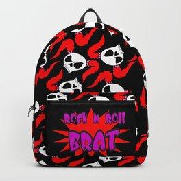 Rock N Roll Brat:Color burst Backpack