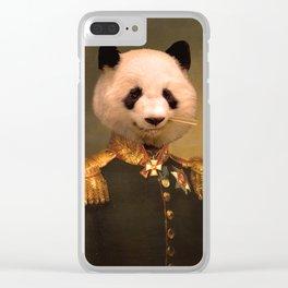Panda Bear General | Cute Kawaii Clear iPhone Case