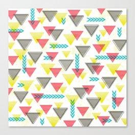 Wild Triangles Canvas Print
