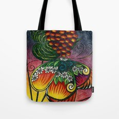My Sarah Butterfly Tote Bag
