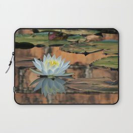 Walled Water Lily Laptop Sleeve