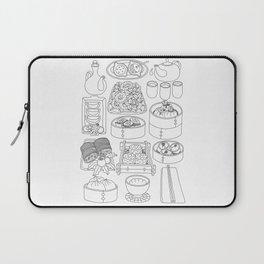 Sunday Dim Sum - Line Art Laptop Sleeve