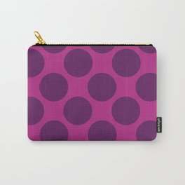 Purple Dot Carry-All Pouch