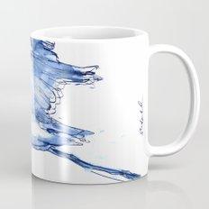 Heron in Indigo Coffee Mug