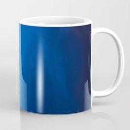 Abstract blue shades.   Like painted on canvas. Coffee Mug
