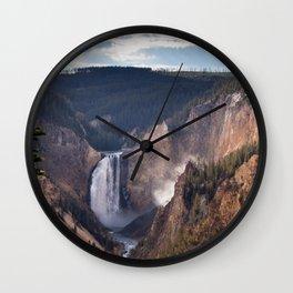 Yellowstone Grand Canyon Wall Clock