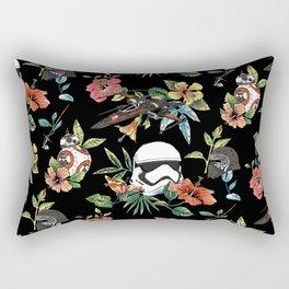 The Floral Awakens Rectangular Pillow
