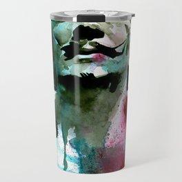 Watercolor Dali Travel Mug