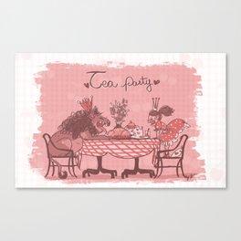 Tea Party! Canvas Print