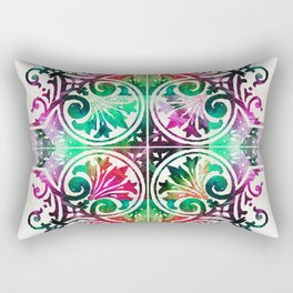 Bright Pattern Art - Color Fusion Design 9 By Sharon Cummings Rectangular Pillow
