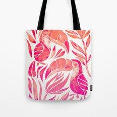Tropical Toucans – Pink Ombré Palette Tote Bag