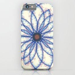 Cell Clone Nebula Fractal Art iPhone Case