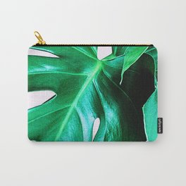 Cheese Plant Leaves Carry-All Pouch