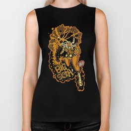 BIG SISTA BROWN Biker Tank