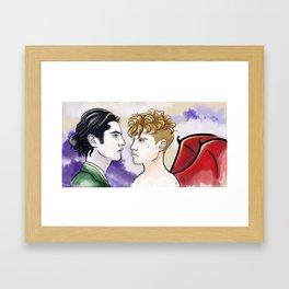 star-crossed Framed Art Print
