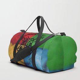 Wizard School House Crest HP Duffle Bag