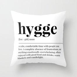 Hygge Throw Pillow