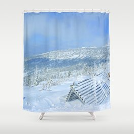 Winter day 20 Shower Curtain