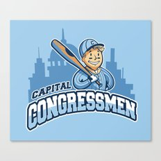 Capital Congressmen Canvas Print