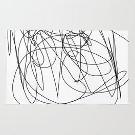 I like to scribble Rug