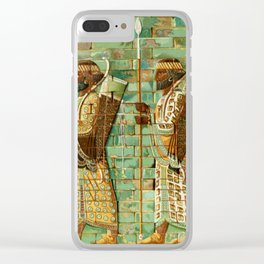 Ancient - The History of Egypt 1901, Frieze of Archers at Susa Clear iPhone Case