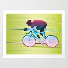 Time Trial Art Print
