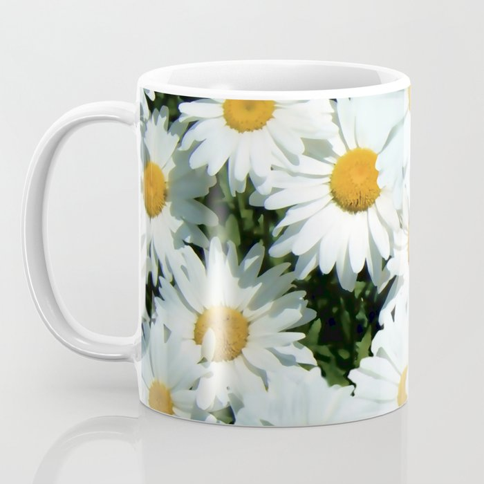 Daisies explode into flower Coffee Mug