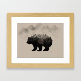 WHEN NATURE TALKS Framed Art Print