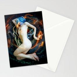 Cozmogonizm Series #13, Color Film, Analog, Art Photo, NUDE Stationery Cards