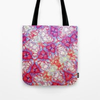 dna Tote Bags featuring DNA by MonsterBrown