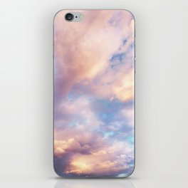 Sunset | Pink Clouds | Sky | Rainbow | Unicorn Colours | Nature iPhone Skin