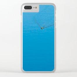Disturbance Clear iPhone Case