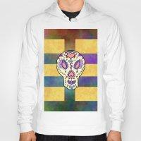 sugar skull Hoodies featuring Sugar Skull by Linda Tomei