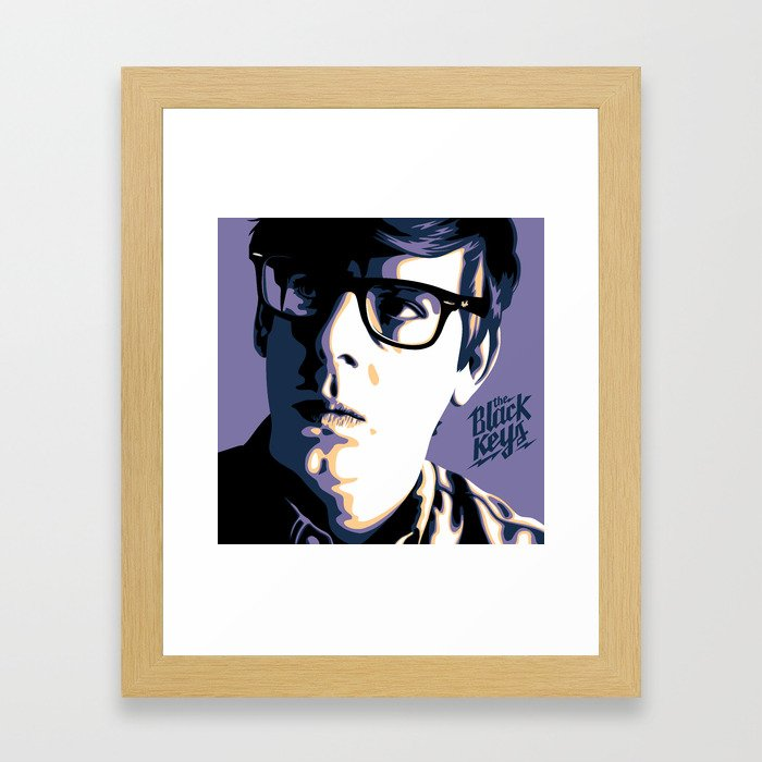 Patrick Carney Framed Art Print