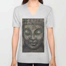 Buddha 1 Unisex V-Neck