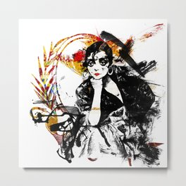 Spanish Girl Metal Print