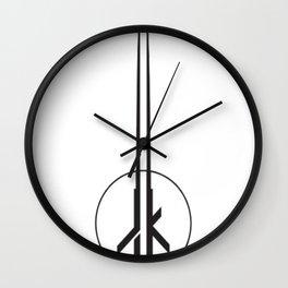 Jedi Knight Outcast T-Shirt Wall Clock