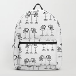 Happy Hours Pattern Backpack